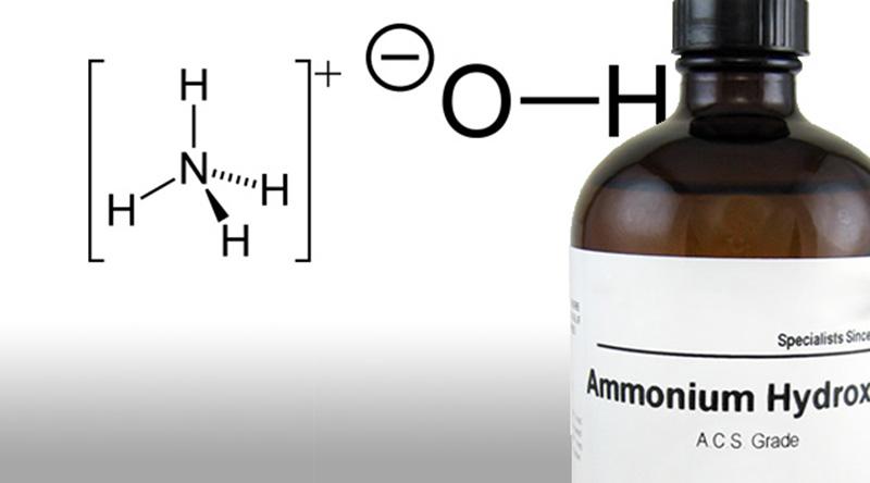 gambar amonium hidroksida