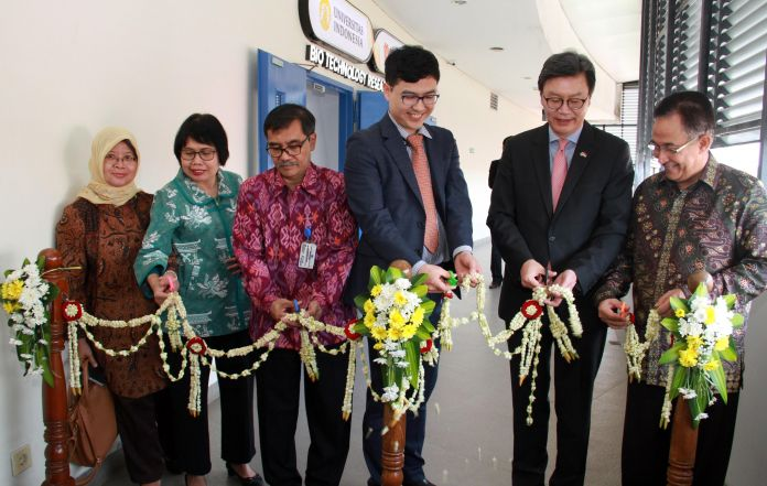 Universitas Indonesia Bersama Daewoong Pharma Membuka Pusat Penelitian Baru di Indonesia