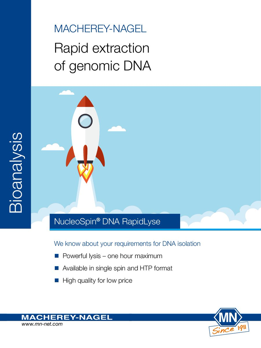 NucleoSpin® DNA RapidLyse - Macherey Nagel