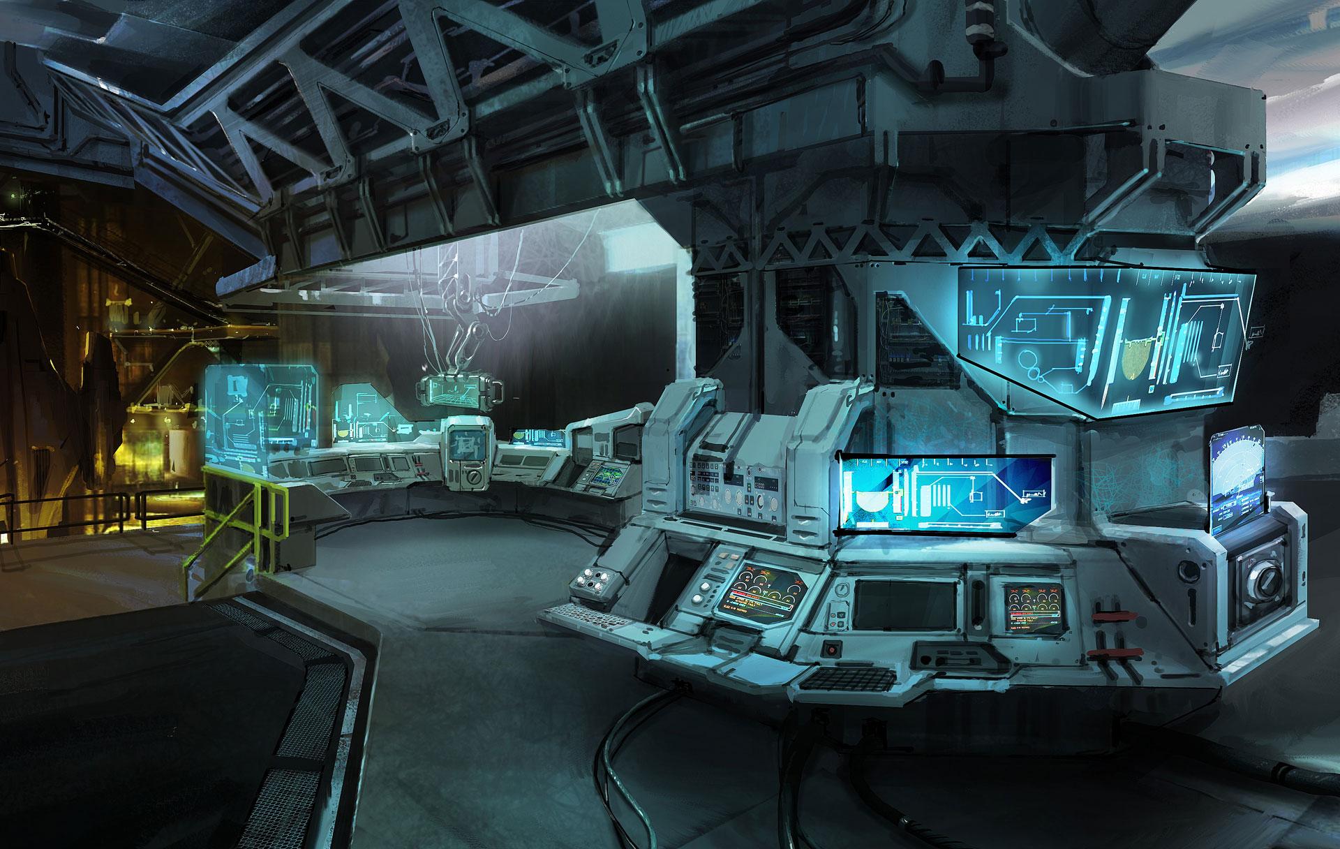 Ilustrasi : Lab di bawah laut
