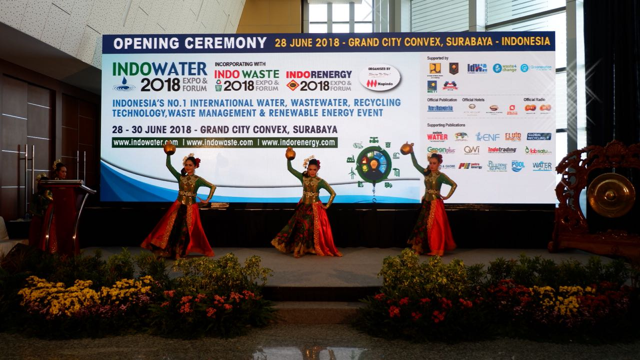 INDOWATER, INDOWASTE DAN INDORENERGY EXPO 2018