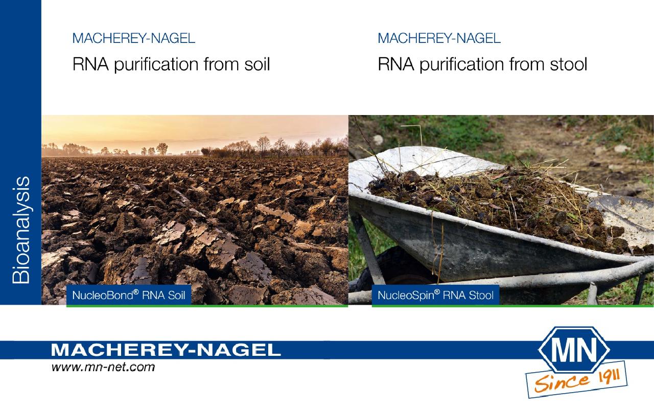 NucleoBond® RNA Soil & NucleoSpin® RNA Stool - Macherey Nagel