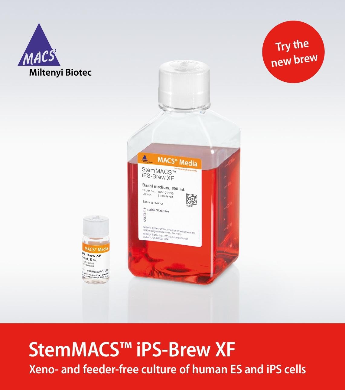 StemMACS ™ iPS-Brew XF - Miltenyi Biotec