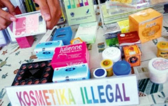BPOM Ungkap Penjualan Kosmetik Ilegal dan Berbahaya Secara Online
